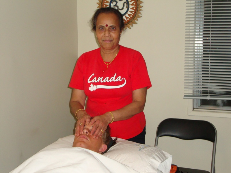 Reiki Treatment Oct 2010